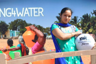 Roca creates experience of a Village Road on World Water Day!