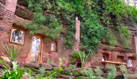 Man builds his dream house in a 700-Year-Old Cave