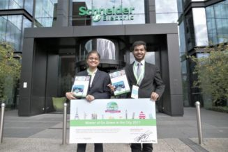Guess which college won the Schneider Electric's Global 'Go Green in the City 2017' Contest in Paris