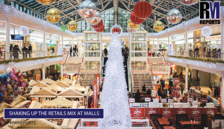 Shaking up the retails mix at malls