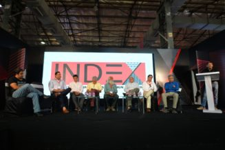 Eminent professionals at a panel discussion in INDEX 2018 (1)