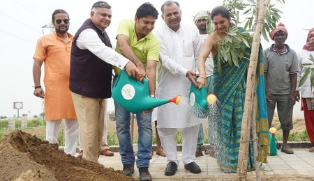 Central Park supports Siddhi in plantation drive at Flower Valley