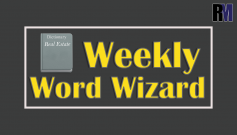 Weekly Word Wizard By RealtyMyths
