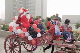 Christmas Celebrations by Enviro at Vatika India - RealtyMyths News