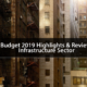 Budget 2019 highlights and review Infrastructure sector RealtyMyths