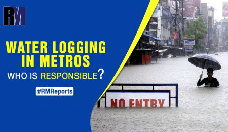 Water logging in metro cities: Who is responsible?