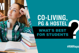 Co-living Vs PG and Hostel: What's the best option for students? RealtyMyths