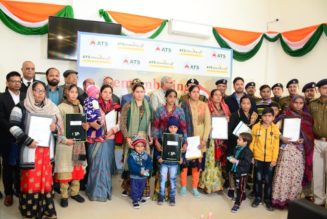 CREDAI handed over flat allotment letters to the families of Pulwama Martyrs,RealtyMyths